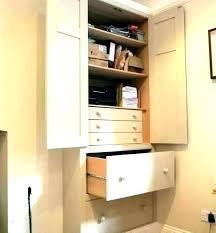 hideaway home office. Oak Hideaway Computer Desk  Cabinet Home Office S