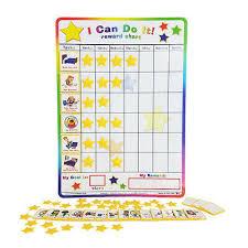 I Can Do It Reward Chart Chore Behavior Incentive Reward