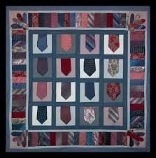 Another by Anita | Necktie Quilt & Necktie Quilt ABA10020 Adamdwight.com