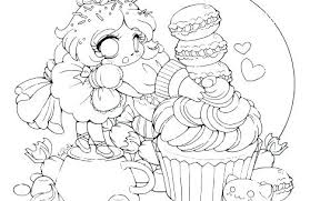 Cool Anime Girl Coloring Pages To Print Printable Cat 1 For Adults