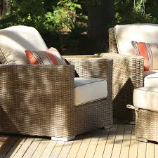 Wicker Motion Club Chair 50 Sunbrella Fabrics