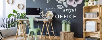 Image Industrial Luxedecor Eclectic Office Furniture And Office Desk Decor Luxedecor