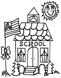back school coloring sheets supplies page preschool to pages