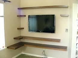 tv on wall corner. medium size of corner wall mount tv stand with shelf on