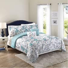better homes gardens full flowers teal comforter set 5 piece com