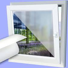 Folie Fenster Sichtschutz Einseitig