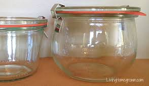 Cheap canning jars Quart All About Weck Canning Jars Livinghomegrowncom Living Homegrown Living Homegrown