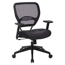 comfortable office chairs. Perfect Office SPACE Seating Professional AirGrid Dark Back And Padded Black Eco Leather  Seat 2to1 Synchro Tilt Control Adjustable Arms Tension With Nylon  With Comfortable Office Chairs C