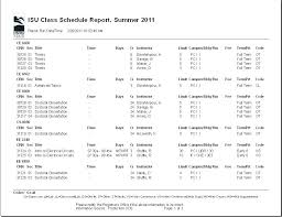 Class Planner Online Academic Schedule Template Daily Class Planner Student Apvat Info