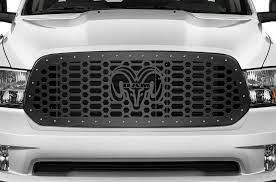1 Piece Steel Grille For Dodge Ram 1500 2013 2018 Ram Head Dodge Ram 1500 Dodge Ram Ram 1500