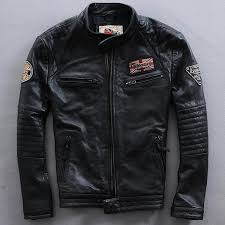 2019 top 2016 classic style men genuine leather motorcycle jacket 100 real cowhide riding biker jackets winter russia coats from geraldi 465 3 dhgate