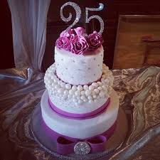21 Inspired Image Of 25th Birthday Cake Ideas Davemelillocom