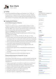 Example Engineer Resumes Software Engineer Resume Writing Guide 12 Samples Pdf