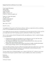 Sample Of Recommendation Letter Simple Resume For Letter Of Recommendation From Food Service Cover Letter