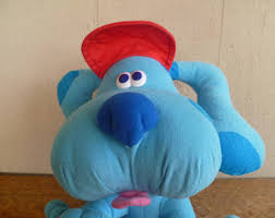 mailbox blues clues plush. Blue\u0027s Clues Plush Dog With Hat Mailbox Blues M