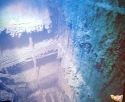 real underwater titanic pictures. Real Pictures Of Titanic Underwater | Facts: Fact 20: Grand Staircase