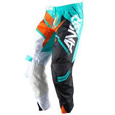 Answer Racing Mx Pants Elite Teal Orange