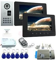 Nice Ideas Front Door Camera Monitor Lovely Security Intercom ...