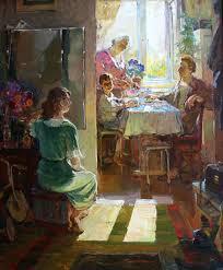 Галерея Арт Владивосток › Дальневосточная Государственная  Медведев В Дипломная работа Семья