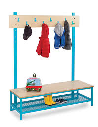 Coat And Boot Rack Simple Bubblegum Cloakroom Bench With Boot Rack And Coat Hooks UK Made