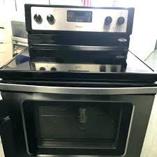 electric range top. Creative Replace Electric Stove Top Range Glass Replacement Changing To Gas