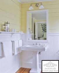 Astounding Wainscot Bathroom Pictures Photo Ideas - Amys Office