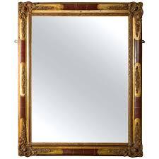 mercury glass mirror. Mercury Mirror Century With Ornate Gilt Plaster Frame For Sale Diy Faux Glass