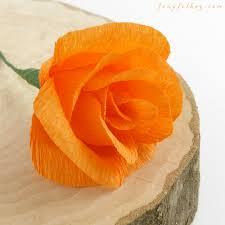 Make Crepe Paper Flower 12 Diy Crepe Paper Flower Tutorials How To Make Crepe Paper Flowers