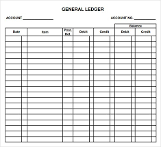 ledger paper templates ledger paper 7 free download for word excel pdf