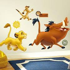 disney wall decals the lion king giant wall stickers