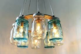lighting fixtures mason jar chandelier beach house lighting fixture picture on awesome glass jar lighting