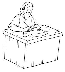 Apostle Paul Coloring Page Bible Paul Acts His Letters Paul