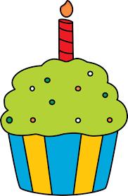Birthday Cupcake Clipart Cupcake Clip Art Cupcake Images Free