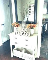 Entry Hall Ideas Table Decor Front I Small Decorating