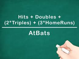 Batting Average Chart How To Calculate A Batting Average 7 Steps With Pictures