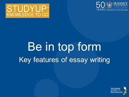 key features of essay writing ppt video online  key features of essay writing