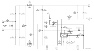 non isolated buck boost t tube led driver power figure 2 schematic diagram
