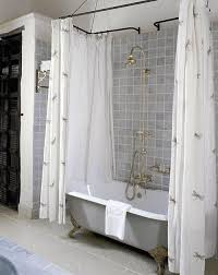 impressive oval shower curtain rod inspiration photos rilane with clawfoot shower curtain rod
