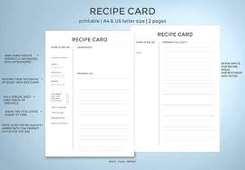 avery recipe card template 4 x 6 recipe card template nosugarcoating info