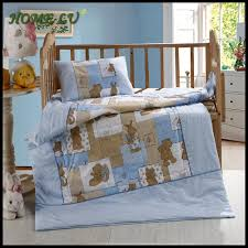 good looking baby nursery room design with baby crib bedding set foxy blue baby