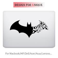 ed batman symbol laptop decal sticker for apple macbook decal pro air retina 11 12 13 15 inch vinyl mac surface book skin
