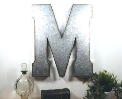 vintage metal wall letters tage metal letters for wall decor large sample cover vintage metal letters