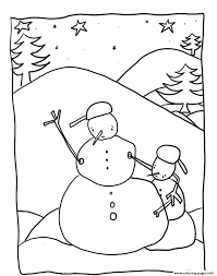 Small Picture Coloring Pages Snowman Stunning Coloring Pages Snowman Snow With