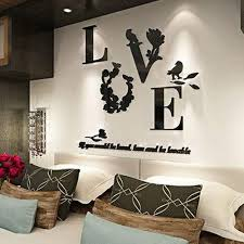 universal modern diy 3d mirror love decor quote flower wall stickers decal home art decor on diy 3d mirror wall art with universal modern diy 3d mirror love decor quote flower wall stickers