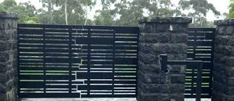 modern metal fences. Plain Fences Modern Steel Fences And Gates Metal Fence Automatic  Residential Contemporary Designs T