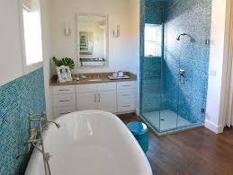 blue bathrooms. Master Bathroom Photos: HGTV Green Home 2009 Blue Bathrooms H