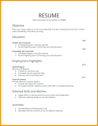 Resume Format First Job Best of Part Time Job Resume Simple Examples Awesome Work Example Fake