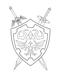 Legend Of Zelda Tattoo Google Search Zelda Coloring Pages
