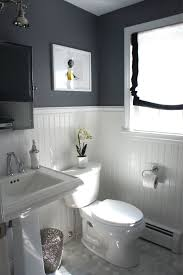 Dark Color Bathroom Designs Before And After Updating A Half Bath And Laundry Small