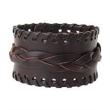 leather bracelets rope wearing fashionable men s and women s bracelets and hot ing wide leather